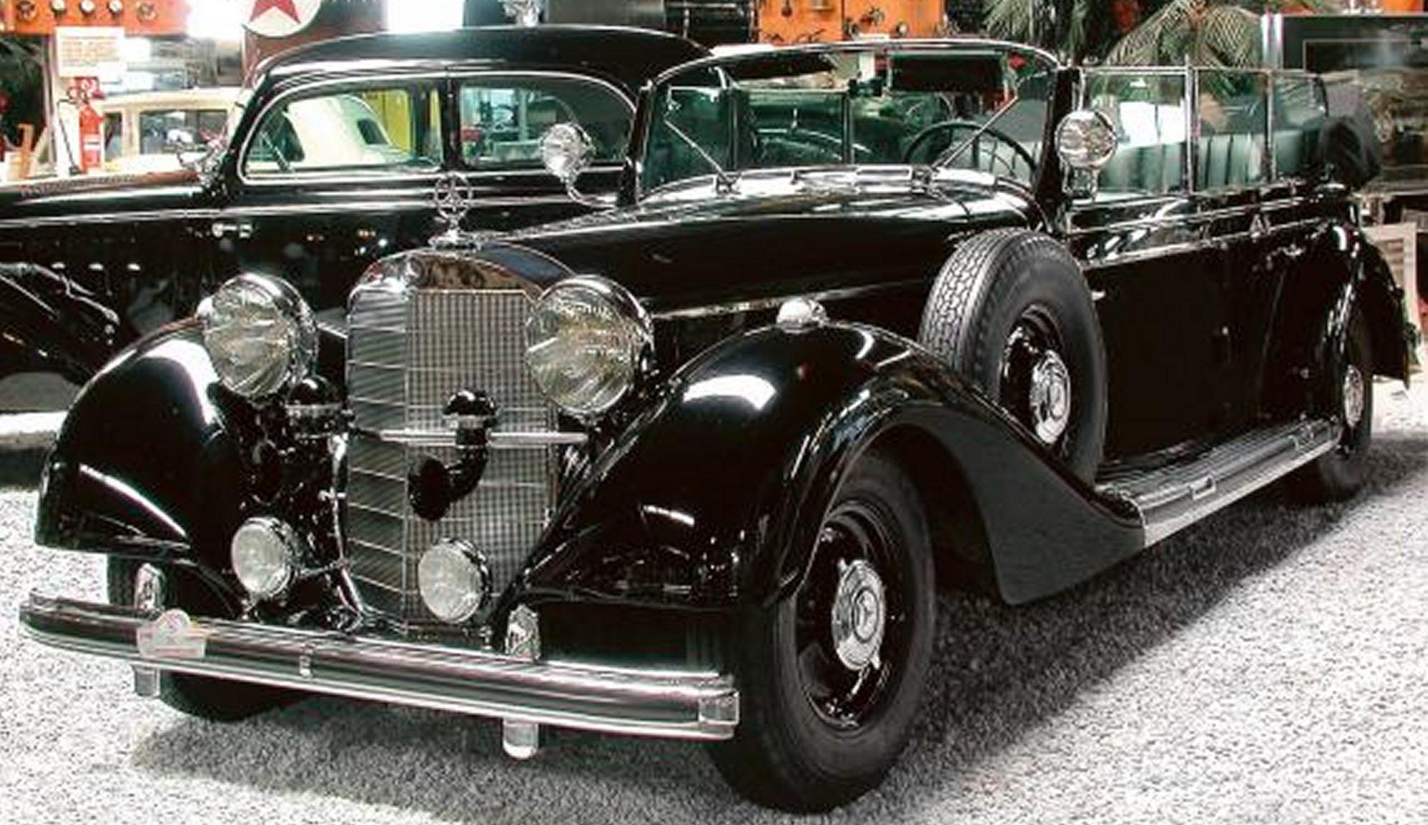 1940 gro er mercedes benz 770k w150 cabriolet. Black Bedroom Furniture Sets. Home Design Ideas